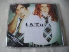 TATU - ALL THE THINGS SHE SAID - UK CD SINGLE - T.A.T.U
