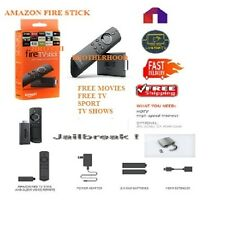 AMAZON FIRE TV STICK Bro~Ken Hacked Alexa Voice Remote SEE PIC 4 Details