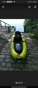 Savylor Reef 300 ccm Kanu Kajak Boot 2+1 kind top teil