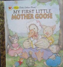 A First Little Golden Book,  My First Little Mother Goose,  GC~SM~H/C  FREE POST
