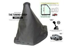 For Nissan Navara 09-12 FL Gear Stick Gaiter Black Leather with Plastic Frame