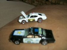 hotwheels red line oldsmobile with open hood awsome car 1960s plus other police