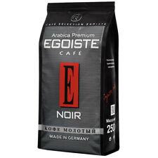 Premium Coffee Ground Egoiste Cafe Noir 250g Arabica 100% Gourmet Germany