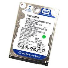 "Western Digital Blue WD2500BEVT 250GB 2.5"" SATA Hard Drive"