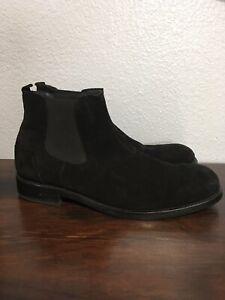 wolverine montague 1000 mile chelsea boots black sz 12d