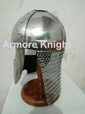 18GA Medieval Viking Mask Helmet Nasal Helmet Replica Halloween Costume Q479