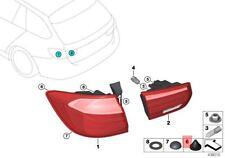 Genuine BMW F20 F20N F21 Tail Light Snap Lock Coupling 5pcs OEM 07147306640