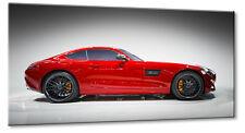 Leinwand Bild Leinwand Bild Mercedes Benz AMG GT Rot Sport Coupé Bilder Auto Spo