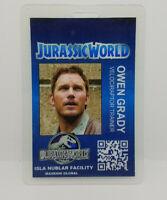 Jurassic World ID Badge - Owen Grady  costume prop cosplay blue jurassic park