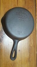 Vintage Wagner Ware Sidney -O-, # 3, 1053 0 , Cast Iron Skillet,  Clean Seasoned