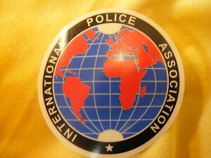 IPA ~ INTERNATIONAL POLICE ASSOCIATION IPA Polizei Aufkleber für dein Kfz
