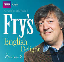 Fry's English Delight Series 3 by Stephen Fry CD-Audio CD Audiobook NEW SEALED