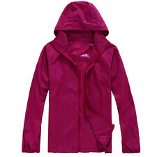 Waterproof Sunscreen Jacket Mens Womens Oversized Lightweight Rain Coat GIFT