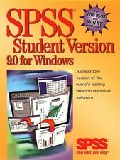 SPSS 9.0 for Windows by SPSS Inc. Staff (1999, CD-ROM, Student Edition of...