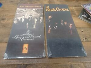THE BLACK CROWES LONGBOX CD LOT BRAND NEW SOUTHERN HARMONY SHAKE YOUR MONEY