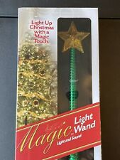 New ListingMagic Wand w/ Sound Remote Control Light Up Christmas Tree w/Touch New Green