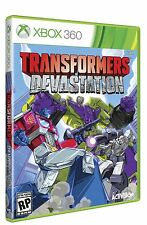 NEW Transformers Devastation (Microsoft Xbox 360, 2015)