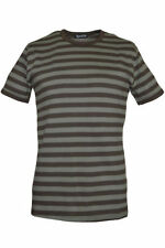 Unbranded Fitted Striped T-Shirts for Men