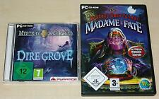 2 WIMMELBILD PC SPIELE SET MYSTERY CASE FILES DIRE GROVE & MADAME FATE