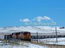 Windows Screensaver CD BNSF Railroad in Colorado