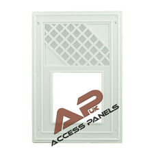 """Air Vent Grille Cover WHITE 170x245mm (6.7x9.6"""") Ventilation Grill Cover"""