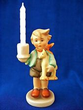 WOW! Hummel TMK 2 ADVENT CANDLESTICK BOY w HORSE 117 MEL3 Bought in Germany MINT