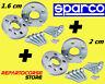 DISTANZIALI SPARCO 16 + 20 mm FIAT 500 / 595 e FIAT 500/ 595 ABARTH