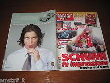 AUTOSPRINT 2001/44=MICHAEL SCHUMACHER=KART=PUBBLICITA' ROVER 25 1.1=
