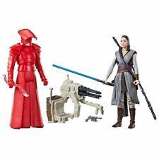 """Star Wars Force Link-Rey (Jedi Entrenamiento) y Elite Guardia pretoriana 3.75"""" 2 Pack"""