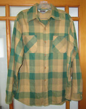 Vintage Big Mac Flannel Shirt Men's Large USA Made Plaid Work Wear Camp