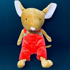 New listing If You Give a Mouse a Cookie Kohls Cares stuffed Animal Plush toy red overalls