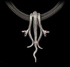 Alchemy gotico collana - HYDRA - Serpente Accessori MEDAGLIONE