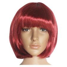 Fashion New Women Lady Short Straight Hair Full Wigs Cosplay Party Bob Hair Wig