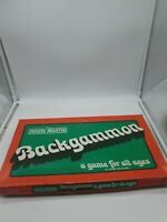 Backgammon - Clasic Vintage 1970s Wooden Game by House Martin