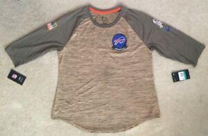 Nike Dri-Fit BUFFALO BILLS NFL Salute to Service Shirt AT5943-297 Women's XL $45