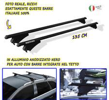 Barre Portatutto Fiat 500 X 2015> set Portapacchi Alluminio auto Kit porta tetto