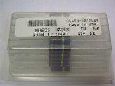 25 Allen Bradley RC42GF820J 82 Ohm 2W 5% Carbon Comp Resistors