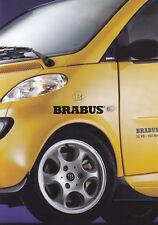 SMART Brabus s1 TUNING SPORT utilitarie SALES BROCHURE prospetto/42