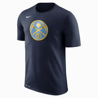 Nike NBA Denver Nuggets Dry Logo Tee men navy blue yellow 870502-419