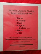 Burton's Guide to Playing Lead and Solo Guitar - Instructional Material