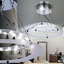 Moderne LED Lampe suspendue Lumière Plafonnier chrome salle à manger cuisine