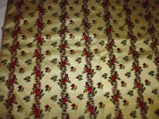 tissu ameublement velours soie satin french fabric silk style Louis 16 Lyon