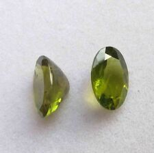 5.90 Cts Natural Genuine Peridot AAA Oval Faceted Shape Loose Stone