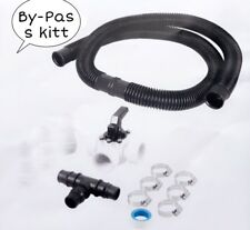 Bypass Set Adapter Swimming Pool Poolheizung Solarkollektor 3 Wegeventil (DHL)