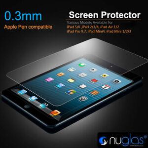 Nuglas Screen Protector  iPad 2 3 4 5 6 iPad Mini 1 2 3 4 5 Tempered Glass