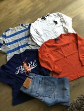 polo ralph lauren long sleeve polo shirt boy 4 - 5 Year olds bundle