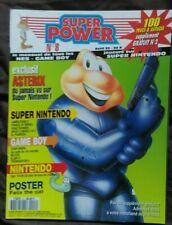 Magazine Super Power n° 8 NES GAME BOY Super Nintendo James Pond 2/ Astérix