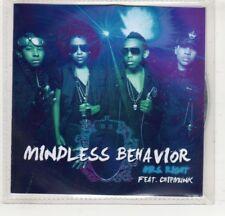 (Hm506) Mindless Behavior, Mrs Right ft Chipmunk - Dj Cd