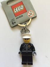 *NEW* LEGO City Police Officer Keychain 851626 Key chain