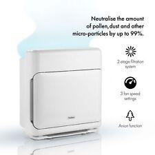 VonHaus Air Purifier With Dual Filtration – HEPA & Active Carbon Filter - 40m²